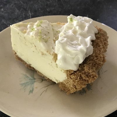 Image result for frozen key lime pie